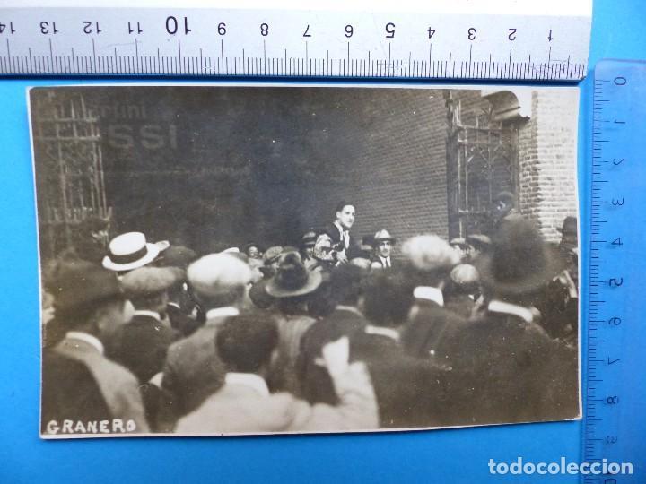 MANUEL GRANERO - FOTOGRAFIA ORIGINAL - MADRID AÑO 1921 (Coleccionismo - Tauromaquia)