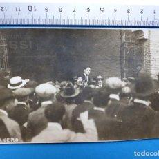 Tauromaquia: MANUEL GRANERO - FOTOGRAFIA ORIGINAL - MADRID AÑO 1921. Lote 127869599