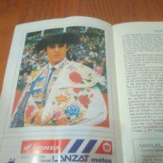 Stierkampf - TOROS MALAGA FERIA AGOSTO 1993, DIA 21 JOSELITO.ENRIQUE PONCE - 128386754