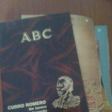 Tauromaquia: CURRO ROMERO UN TORERO DE LEYENDA 1 AL 38 FASCICULOS ABC. Lote 129095836