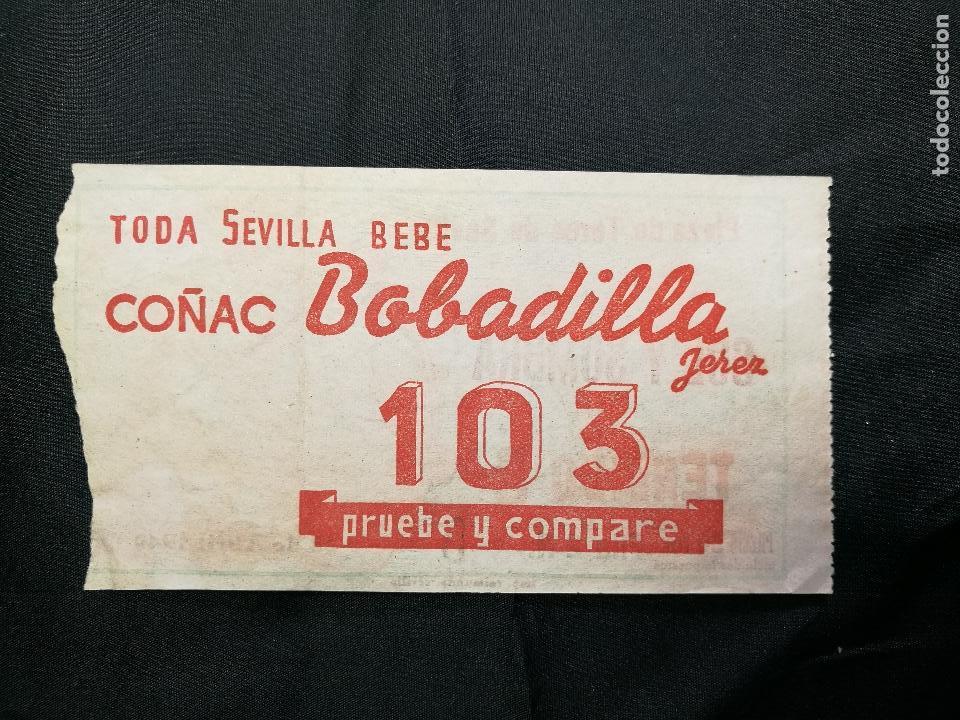 Tauromaquia: Entrada toros Plaza Maestranza Sevilla Sol y sombra 1949 - Foto 3 - 133812270