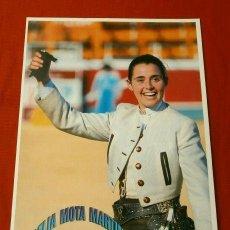 Tauromaquia: FOTO TORERO REJONEADOR - NOELIA MOTA MARTINEZ - 14 X 18,5 CM - TOROS REJONEADORA. Lote 135241798