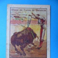 Tauromaquia: BONITO PROGRAMA TOROS - VALENCIA FERIA DE JULIO DE 1953 -CHICUELO II, R. ORTEGA, A. VAZQUEZ, ORDOÑEZ. Lote 135339406