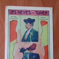 Tauromaquia: REVISTA. LOS REYES DEL TOREO. BARCELONA.. Lote 135603214