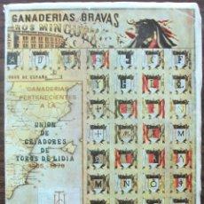 Tauromaquia: UNION DE CRIADORES DE TOROS DE LIDIA. TEMPORADA TAURINA DE 1978.. Lote 135673787