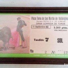 Tauromaquia: ESPECTÁCULO TORADA (CORRIDA DE TOROS). Lote 135697927