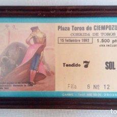 Tauromaquia: ESPECTÁCULO TORADA (CORRIDA DE TOROS). Lote 135698079