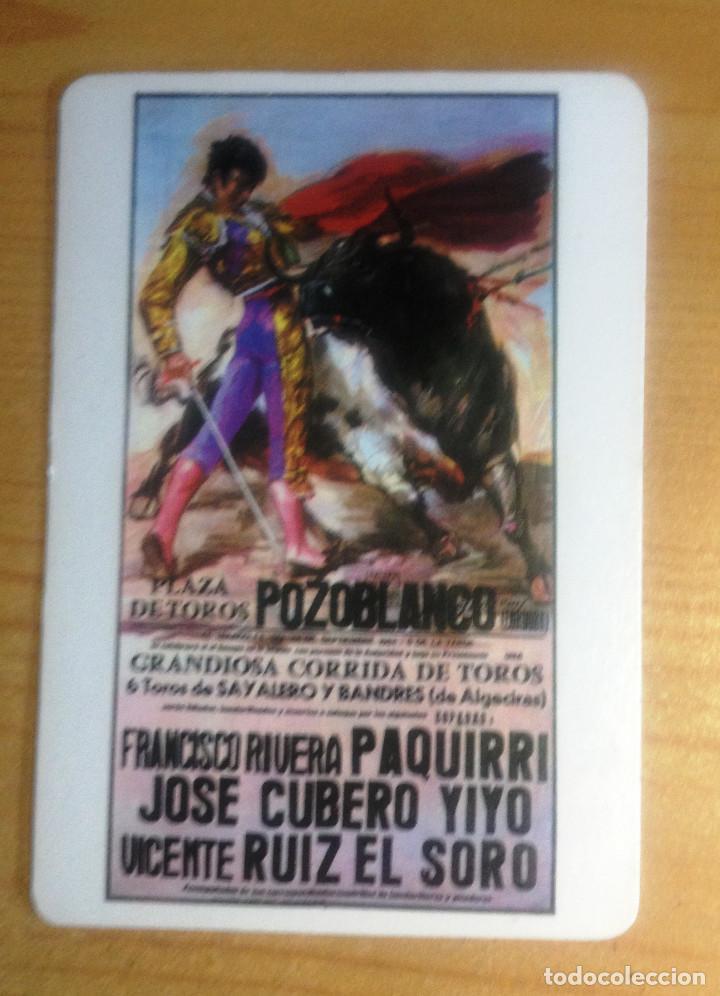 CALENDARIO- CARTEL MALDITO. POZOBLANCO- MUERTE DE PAQUIRRI (Coleccionismo - Tauromaquia)