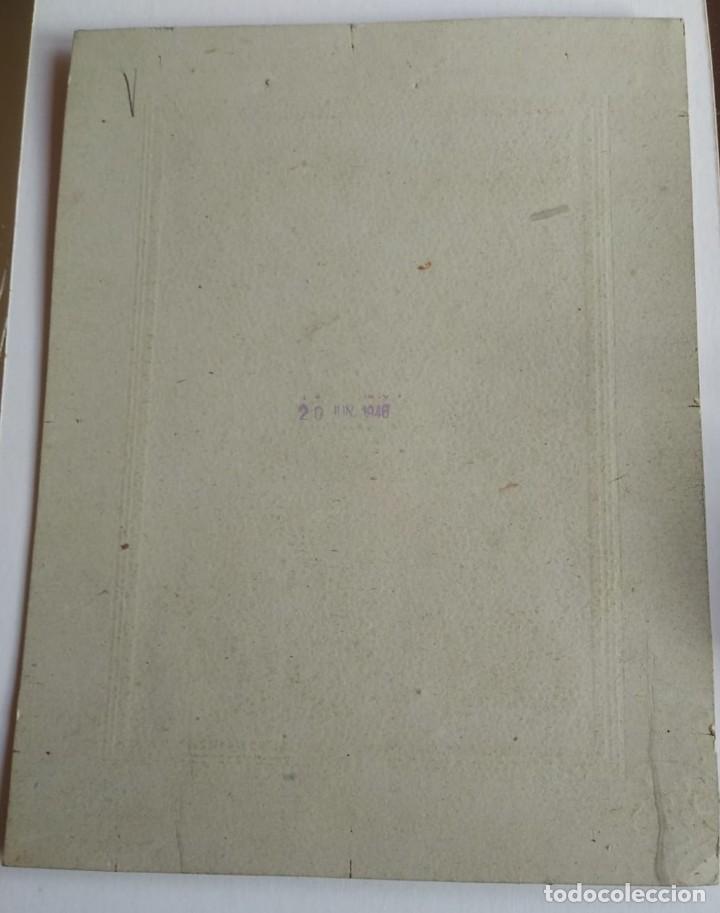 Tauromaquia: 1946 Juanito Bienvenida. Foto dedicada y firmada por el torero en 1946 - Foto 4 - 140745866