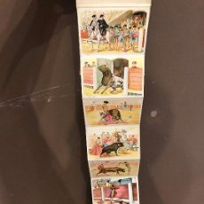 Tauromaquia: LIBRO 10 POSTALES DE CORRIDA DE TOROS. Lote 140894510