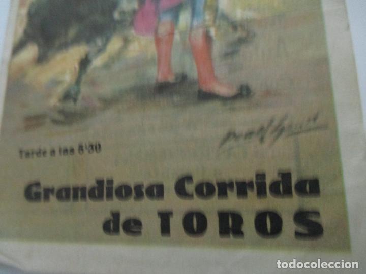 Tauromaquia: Pequeño Tríptico Plaza de Toros Gerona, Girona - Agosto 1965 - Foto 2 - 145467502