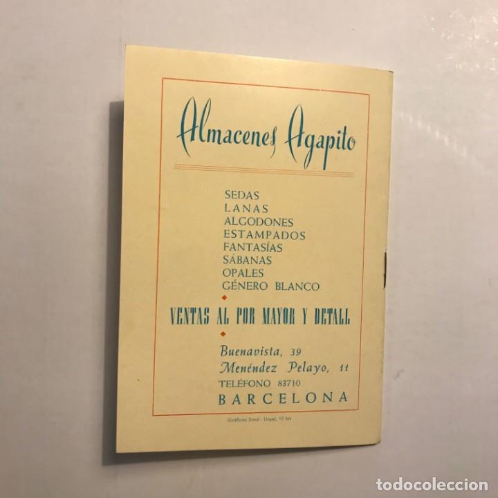 1950 Club taurino Mario Cabré. Segundo aniversario. Librito con publicidad. - 146741666