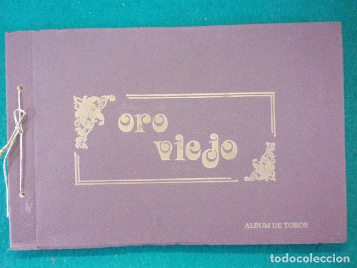 ORO VIEJO. ÁLBUM DE TOROS. / 1992. SALGAR (Coleccionismo - Tauromaquia)
