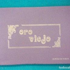 Tauromaquia: ORO VIEJO. ÁLBUM DE TOROS. / 1992. SALGAR. Lote 146981150