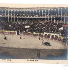 Tauromaquia: TARJETA POSTAL UN BUEN PAR. SERIE 101/8. M. DE M.A. MADRID. CIRCA 1905. Lote 148176168