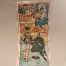 Tauromaquia: CARTEL TAURINO DEL AÑO 1918 PLAZA DE TOROS DE OLOT . DOMINGUÍN. Lote 148663633