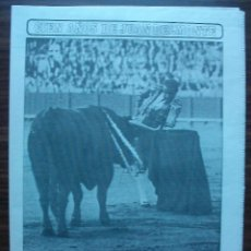 Tauromaquia: SUPLEMENTO DE DIARIO ABC. CIEN AÑOS DE JUAN BELMONTE. 14 DE ABRIL 1992.. Lote 149219854