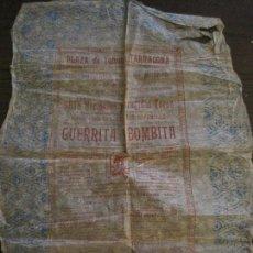 Tauromaquia: TARRAGONA-PLAZA DE TOROS-GRAN CORRIDA TOROS-AÑO 1894-CARTELITO PAPEL SEDA-VER FOTOS-(V-15.900). Lote 149869218