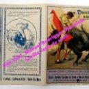 Tauromaquia: PROGRAMA DE MANO. MANOLETE, GALLITO, ANDALUZ, PEPE LUIS VÁZQUEZ. FERIA ABRIL. SEVILLA. RUANO LLOPIS.. Lote 150764206