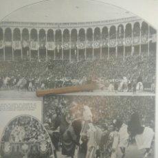 Tauromaquia: RECORTE PRENSA AÑOS 20-1925 TORNEO A LA ANTIGUA USANZA CELEBRADO PLAZA TOROS MADRID.MN 90. Lote 151708753