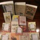 Tauromaquia: 15 LIBROS FACSÍMILES RELATIVOS A LOS TOROS (1804-1929). TAUROMAQUIA TOREROS FIESTA NACIONAL. Lote 151964622