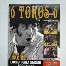 Tauromaquia: REVISTA 6 TOROS 6 Nº 902. 11 DE OCTUBRE DE 2011. JUAN JOSE PADILLA. TDKR17 . Lote 152019070