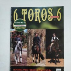 Tauromaquia: REVISTA 6 TOROS 6 Nº 964. 18 DICIEMBRE 2012. EL TOREO A CABALLO EN 2012. TDKR17 . Lote 152019562