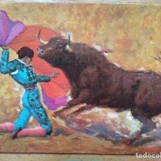 Tauromaquia: POSTAL EL ARTE DE DIEGO PUERTA: LARGA CAMBIADA. Lote 152053698