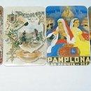 Tauromaquia: LOTE DE 4 CALENDARIOS DE PAMPLONA 1992. BIJOYA ALMACEN JOYERIA. MOTIVO SAN FERMIN. TDKP14. Lote 152328714