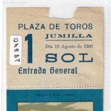 Tauromaquia: ENTRADA PLAZA DE TOROS - JUMILLA MÚRCIA 1930 - P28340. Lote 152842406