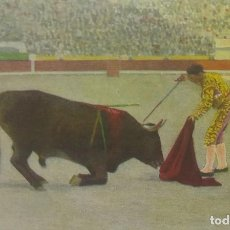 Tauromaquia: Nº 9 INTENTO DE DESCABELLO. POSTAL EDICIONES VICTORIA. N. COLL SALIETI. BARCELONA.. Lote 156520958