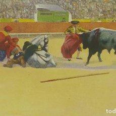 Tauromaquia: Nº 3 UN QUIJE. POSTAL TAURINA EDICIONES VICTORIA. N. COLL SALIETI. BARCELONA.. Lote 156521546
