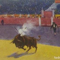 Tauromaquia: Nº 809 BANDERILLAS DE FUEGO. M. BERTUCHI. POSTAL TAURINA EDICIONES VICTORIA. N. COLL SALIETI. Lote 156522150