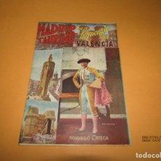 Tauromaquia: MADRID TAURINO EN HOMENAJE A VALENCIA - AÑO 1943. Lote 156769038