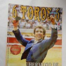 Tauromaquia: 6 TOROS 6 REVISTA TAURINA Nº 749 04-11-2008 , HERMOSO DE MENDOZA HABLA EL MAESTRO . Lote 156772582