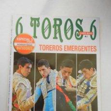Tauromaquia: 6 TOROS 6 REVISTA TAURINA Nº959 13-11-2012 TOREROS EMERGENTES . Lote 156773130