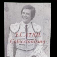 Tauromaquia: RAUL ARANDA TORERO - CLICHE ORIGINAL - NEGATIVO EN CELULOIDE - EDICIONES ARRIBAS. Lote 157409354
