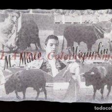 Tauromaquia: M. MATEO MIGUELIN TORERO - CLICHE ORIGINAL - NEGATIVO EN CELULOIDE - EDICIONES ARRIBAS. Lote 157417398