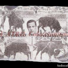 Tauromaquia: MANOLO VAZQUEZ TORERO - CLICHE ORIGINAL - NEGATIVO EN CELULOIDE - EDICIONES ARRIBAS. Lote 157418466