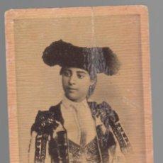 Tauromaquia: CROMO ANTIGUO / CHOCOLATES JAIME BOIX (BARCELONA) - PROVIDENCIA / MUJERES TORERAS. Lote 158369506