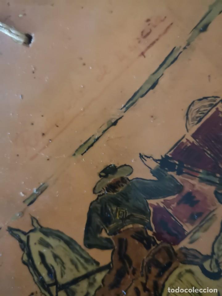 Tauromaquia: Azulejo escena taurina firma J Diaz 1965 - Foto 4 - 158537126