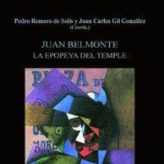 Tauromaquia: JUAN BELMONTE. LA EPOPEYA DEL TEMPLE. NUEVO. Lote 158859414