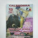 Tauromaquia: LIBRO REVISTA CALAHORRA. 40 AÑOS DE CLUB TAURINO. 13 DE NOVIEMBRE 1963. TDK382. Lote 159494822