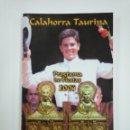 Tauromaquia: LIBRO REVISTA CALAHORRA TAURINA. PROGRAMA DE FIESTAS. AÑO 2004. TDK382. Lote 159498246