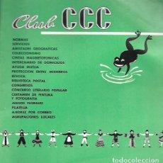 Tauromaquia: CLUB CCC. LIBRO DE NORMAS. 3ª EDICIÓN (ENERO 1968). Lote 159528360