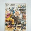 Tauromaquia: LIBRO CLUB TAURINO DE CALAHORRA. AÑO 1990. TDK383. Lote 159545678