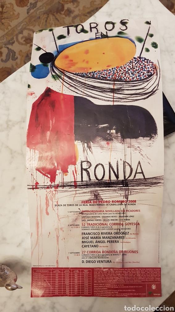 CARTEL CORRIDA GOYESCA RONDA 2008 (Coleccionismo - Tauromaquia)