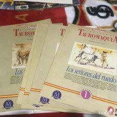 Tauromaquia: CIEN AÑOS DE TAUROMAQUIA- 6 FASCÍCULOS + CARPETA. Lote 161473540