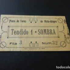 Tauromaquia: ENTRADA PLAZA DE TOROS DE BILBAO SOMBRA TENDIDO 1 HACIA 1910. Lote 164595678