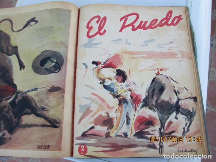 Tauromaquia: EL RUEDO AÑO 1946 23 REVISTAS ENCUADERNADAS DESDE JULIO 1946 HASTA DICIEMBRE BUEN ESTADO - Foto 6 - 164599186